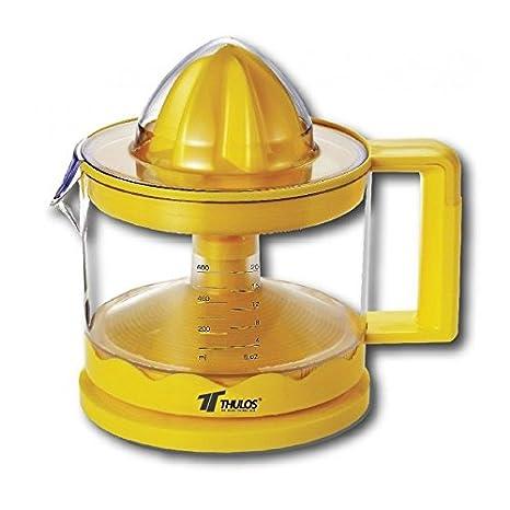 Exprimidor electrico para zumos 30W 600ml cono con filtro y tapa protectora: Amazon.es: Hogar