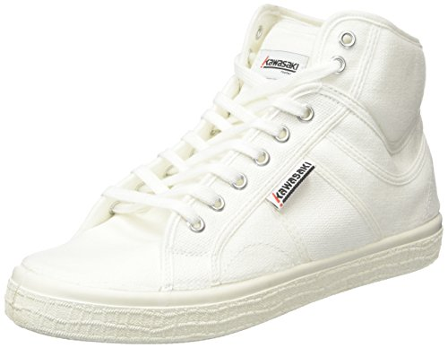 Boston adulto Kawasaki 01 Zapatillas Unisex 0 2 Boot White Blanco Weiß HdYxadq