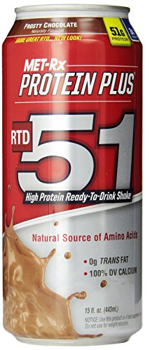 Met-Rx RTD 51 Frosty Chocolate 12 ct 15 oz