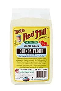 Bob's Red Mill Flour Quinoa Organic, 22 Ounce