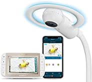 Motorola Halo+ Video Baby Monitor - Infant Wi-Fi Camera with Overhead Crib Mount - 4.3-Inch Color Screen with