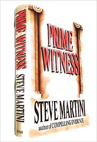 Amazon Fr Prime Witness Steve Martini Livres
