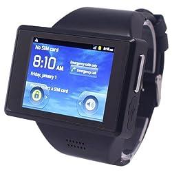 Z13 Black, 2.0 inch Android 4.0.0 Smart Watch Phone, MTK6515M 1.0GHz, RAM: 512MB, ROM: 4GB(Black)