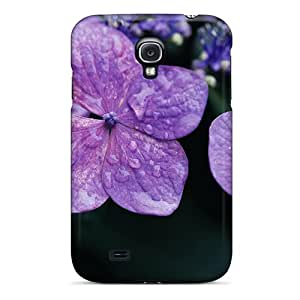 Galaxy S4 Case Cover Skin : Premium High Quality Lilac Hydrangea Flower Jpg Case