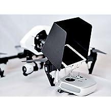 SummitLink 10 Inch iPad SunShade Sun Hood White for DJI Phantom 4 Phantom 3 Professional Advanced DJI Inspire 1 3DR Solo