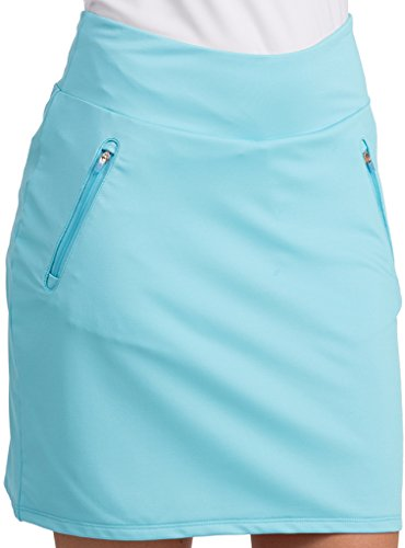Antigua Ladies Spunky Skort Oceanside Medium ()