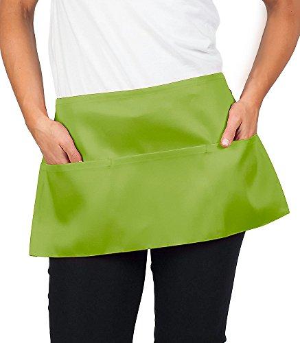 Lime Green Waist Apron inch