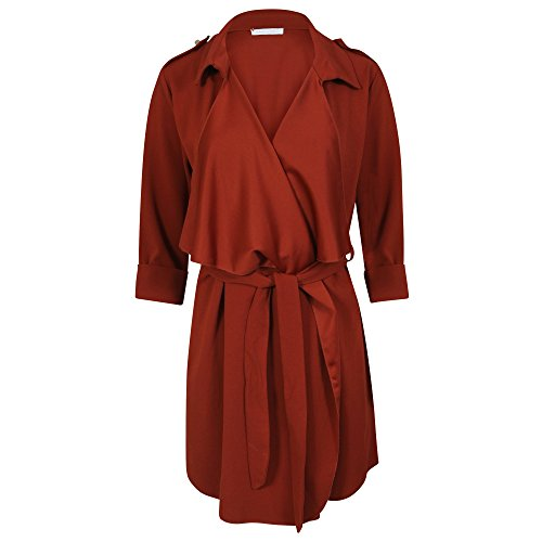 Blouson Get Trend Trench Rouille Femme The 6PwPFxZrE