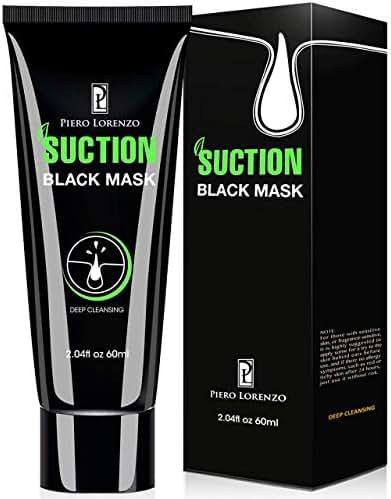 Piero Lorenzo Blackhead Remover Mask, Blackhead Peel Off Mask, Face Mask, Blackhead Mask, Black Mask Deep Cleansing Facial Mask for Face Nose 60g