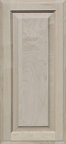 Unfinished Maple Cabinet Door, Square with Raised Panel by Kendor, 26H x 12W