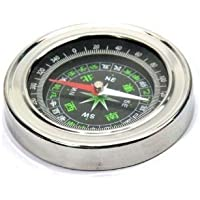 SHOPEE Stainless Steel Directional Magnetic Compass For Feng Shui / Travel ( Black )
