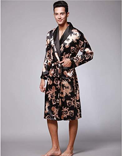 Casual Accappatoio Abbigliamento Camicia Pajama Ragazzi 102 Da Uomo Autunno Notte E Classiche 18q4Xq6