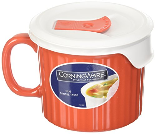 Corningware 20 oz. Pop-in Mug - Vermillian