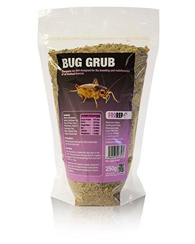 Pro Rep Live Food Bug Grub 250g Refill Bag ProRep VPS005