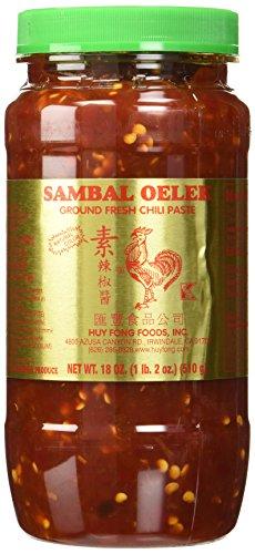 Huy Fong Foods Sambal Oelek Ground Fresh Chili Paste -- 18 oz