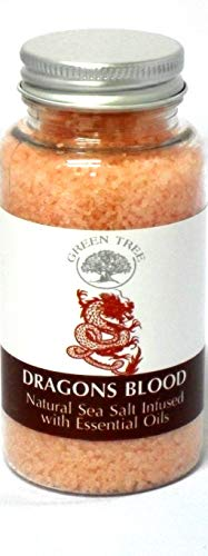GREEN TREE CANDLE 5060116870183 Dragon Blood Sea Salt Aroma Burner