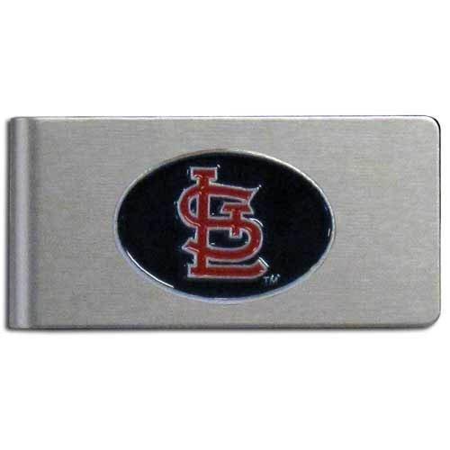 MLB St. Louis Cardinals Brushed Money Clip