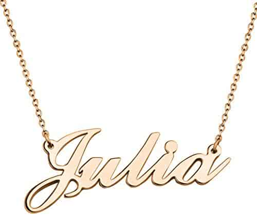 b080a73380d2c Shopping 4 Stars & Up - Gold Plated - Customizable - Necklaces ...
