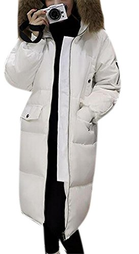Quilted Long Down Coat - 9