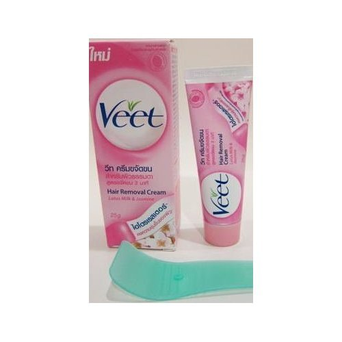Veet Cold Wax Hair Removal Strips, Normal Skin Formula with Lotus Milk and Jasmine ()