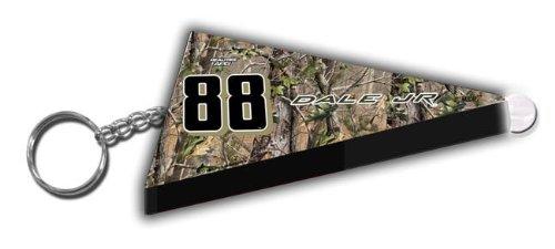 Dale Earnhardt Jr #88 RealTree Camo Nascar Pennant Key Chain