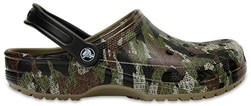 Crocs Classic Camo Clog Mule