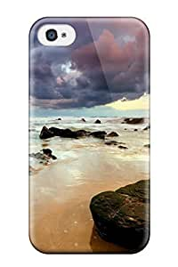4/4s Scratch-proof Protection Case Cover For Iphone/ Hot Beach Phone Case