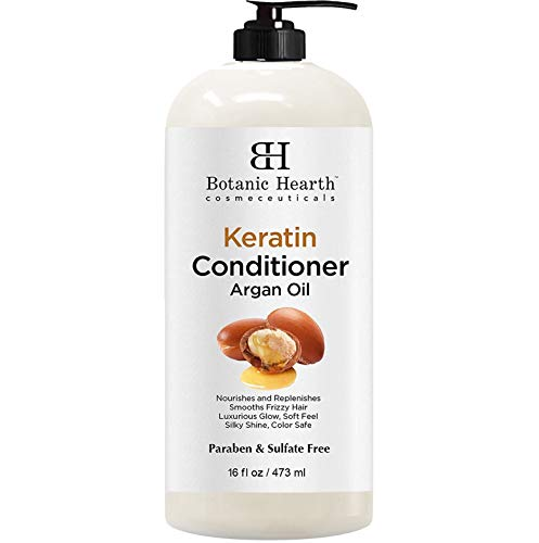 Keratin Conditioner Argan Botanic Hearth