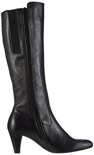 Gabor Comfort Basic - Botas de Cuero Mujer negro - Schwarz (schwarz 27)