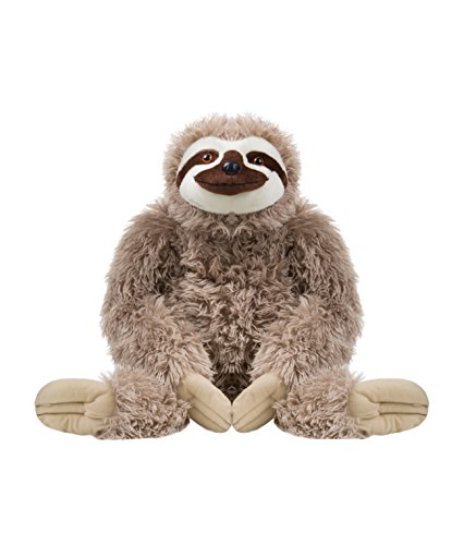 Wild Republic Jumbo Sloth Plush, Giant Stuffed Animal, Plush Toy, 30 Inches