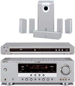 Yamaha AV Pack 108 Cine en casa Set (RX de v363 + DVD de S661 + NS ...