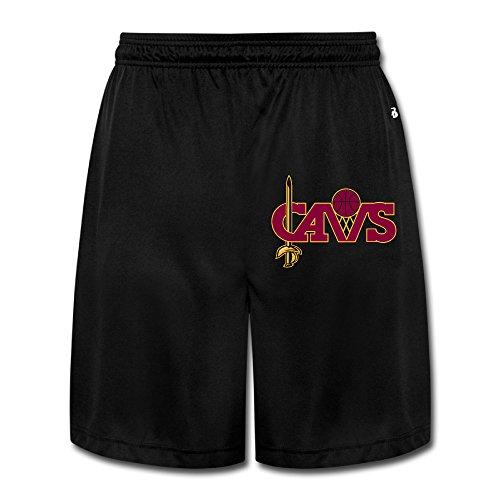 Price comparison product image POPYol Men's Cleveland Cavaliers Logo Performance Shorts Sweatpants
