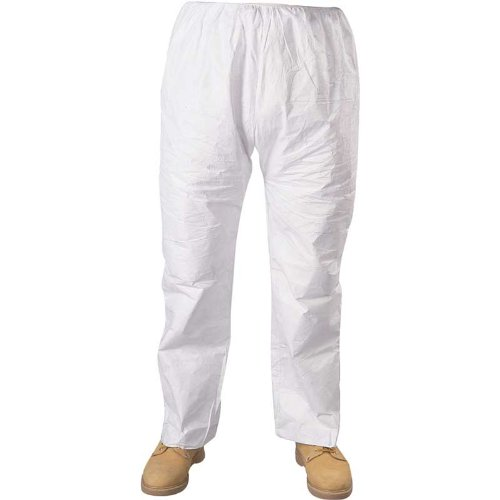 Seidman Associates TY-TY350-XL Tyvek Pants with Elastic Waist - XL