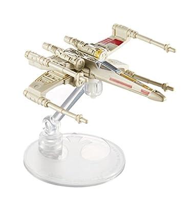 Hot Wheels Star Wars X-Wing Red 5 Starship Vehicle Playset