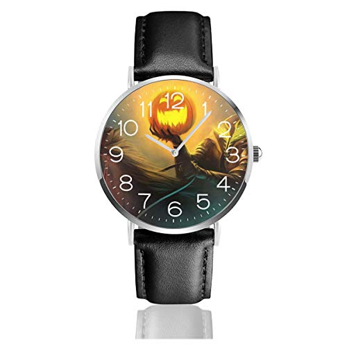 Mens Thin Watches,Simple PU Leather Watch Men Wrist