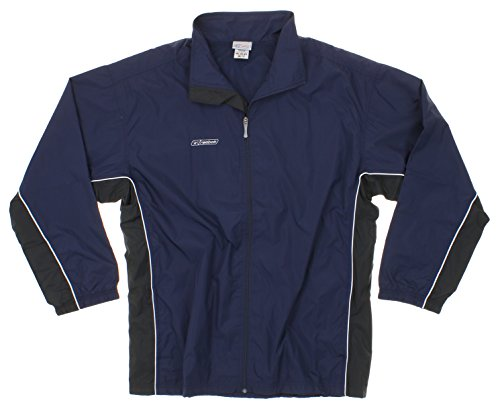 Reebok Men's Athletic Windbreaker Jacket (XX-Large, Navy) (Reebok Spring Mens)