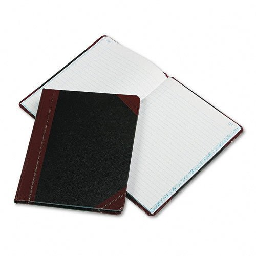 Boorum & Pease® Record and Account Book with Black and Red Cover by Boorum & Pease