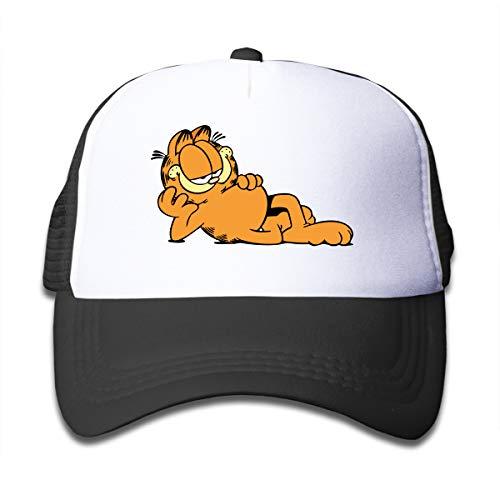 - Halo Life Garfield Children's Mesh Adjustable Cap&Hat Black One Size