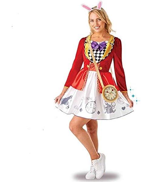 Rubies- Disney Alice in Wonderland White Rabbit Disfraz ...