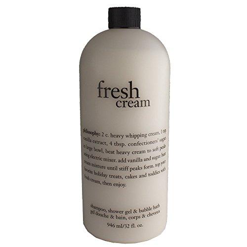 Philosophy Fresh Cream Shampoo, Shower Gel Bubble Bath