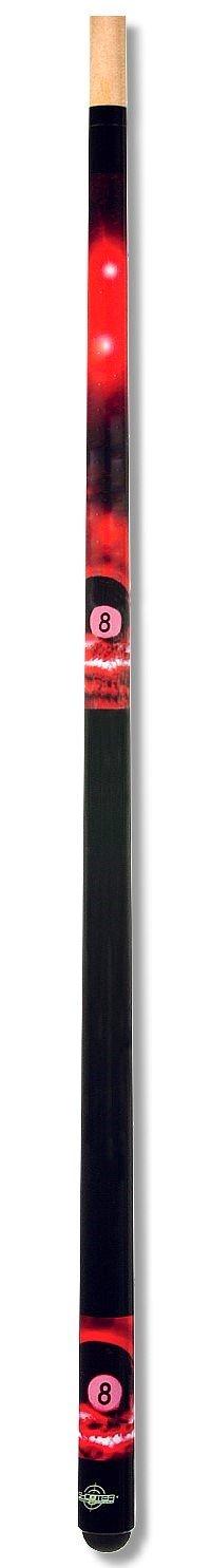 GamePoint Tycoon TC-1 - Palo de billar, color rojo