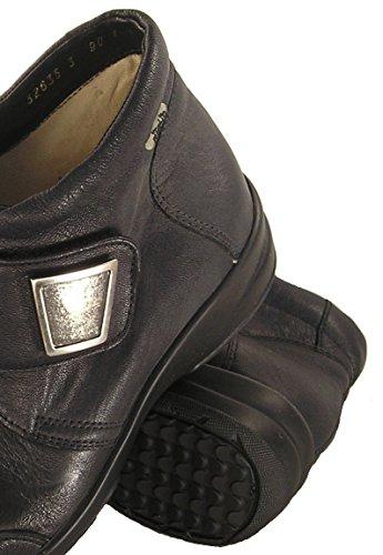Fidelio Kvinners Hallux Fabia Ilke Lindring Justerbar Støvlett 32635 (svart) Stor Bredde