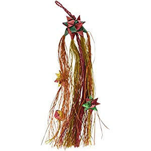 "Planet Pleasures Parrot Pinatas Shooting Star Small 9"" Natural Bird Toy 38"