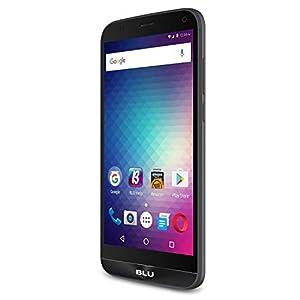 BLU Dash XL X8 -International GSM- 5.5″ Unlocked Smartphone – 8GB +1GB RAM – Black