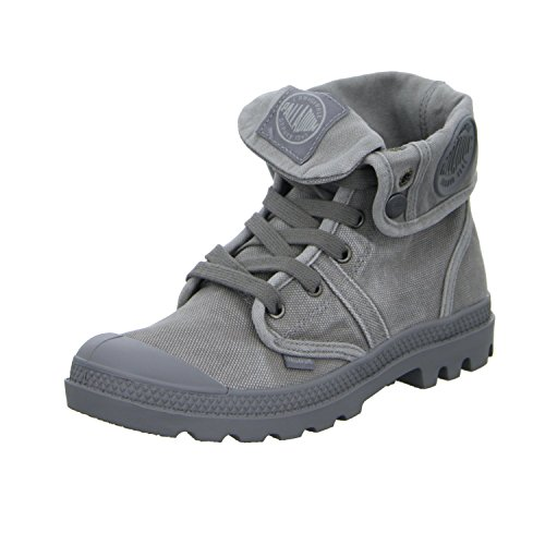 Palladium Donna Us Baggy Wf Alta Sneaker Grigio (grigio)