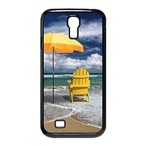 Yellow Umbrella CUSTOM Hard Case for SamSung Galaxy S4 I9500 LMc-97943 at LaiMc