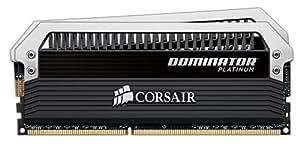 Corsair Dominator Platinum 8GB (2x4GB)  DDR3 1600 MHz (PC3 12800) Desktop Memory (CMD8GX3M2A1600C8)