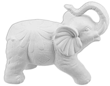 The Large Fancy Elephant   Paint Your Own Ceramic Keepsake