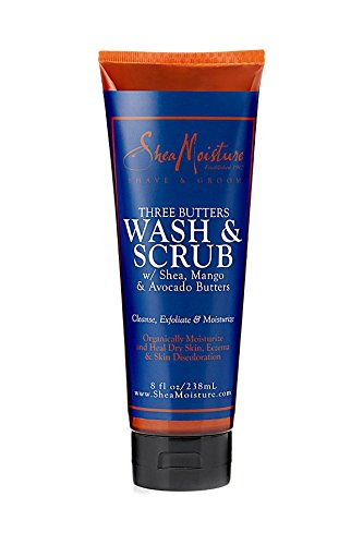 Three Butters Wash & Scrub 8 Ounces