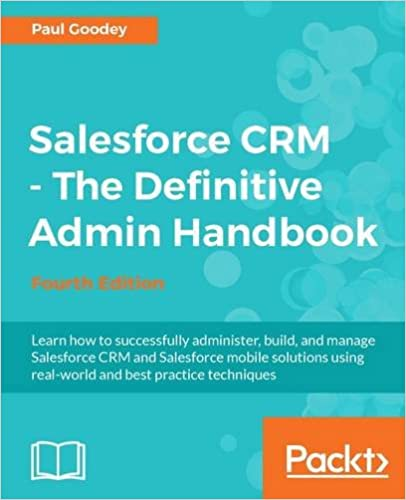 amazon com salesforce crm the definitive admin handbook fourth